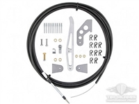 Billet Parachute Handle/Cable kit for single parachute