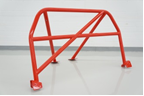 Watson Racing Bolt-In 4-Point Street/Track cage, RED 2005-14 Mustang Coupe