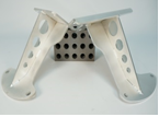 Watson Racing Coyote Solid Engine Mounts, One Piece Design