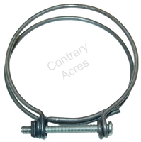 WIRE HOSE CLAMP 3 INCH