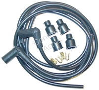 SPARK PLUG WIRING SET W/ COPPER WIRE 2 CYL