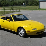 1989-05 MX-5 Miata Stayfast Economy Top Plastic Window, No Rail