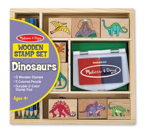 Dinosaur Stamp Set for Dino-mite Projects