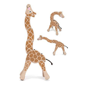 Grasping Giraffe Toy for Baby's Little Fingers