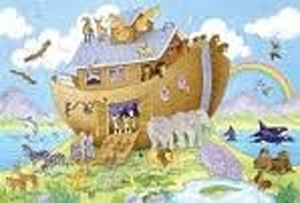 Noah's Ark Giant Floor Puzzle, 24-piece, ages 3+