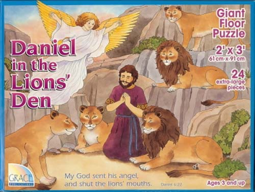 Daniel in the Lions' Den Floor Puzzle