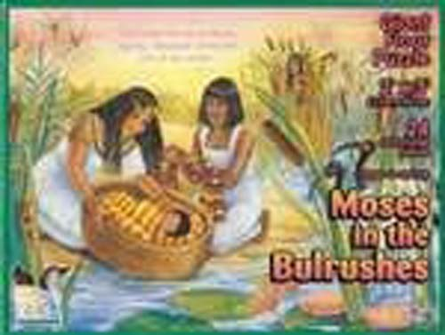 Moses in the Bullrushes Puzzle, 24 extra-large pieces