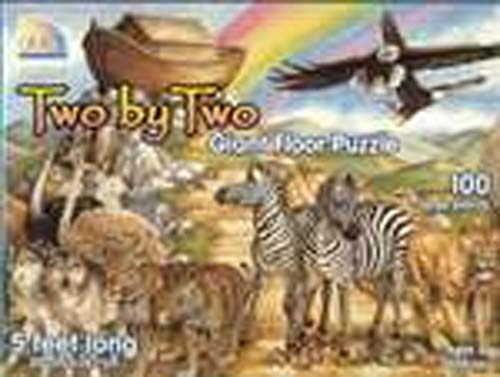 Two by Two Noah's Ark Giant Floor Puzzle ages 5+