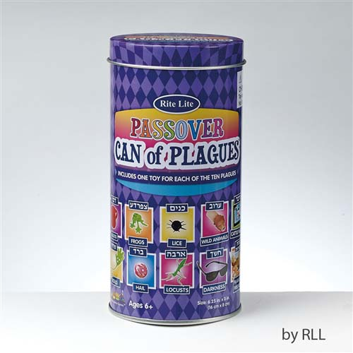 Can of 10 Plagues for Passover