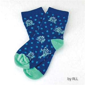 Passover Frog Socks for Kids