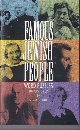 Famous Jewish People Word Puzzles PB