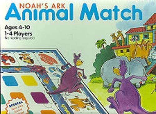 Noah's Ark Animal Match Board Game