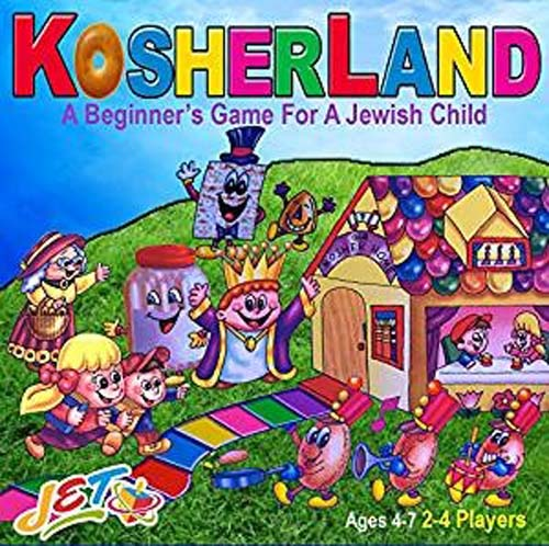 KosherLand Board Game