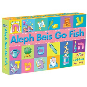 Aleph Beis Go Fish Game for ages 4 and up