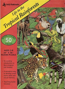 Life in the Tropical Rainforests - 50 piece