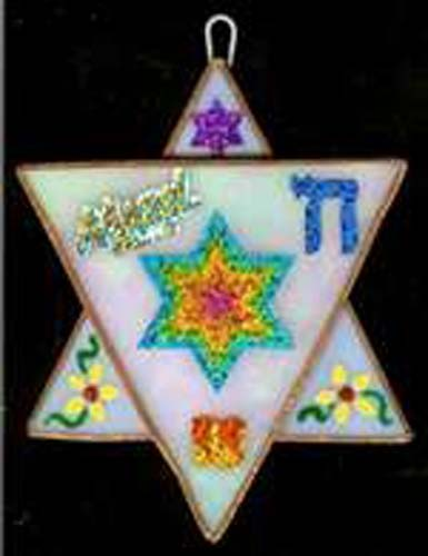 Stained Glass Magen David