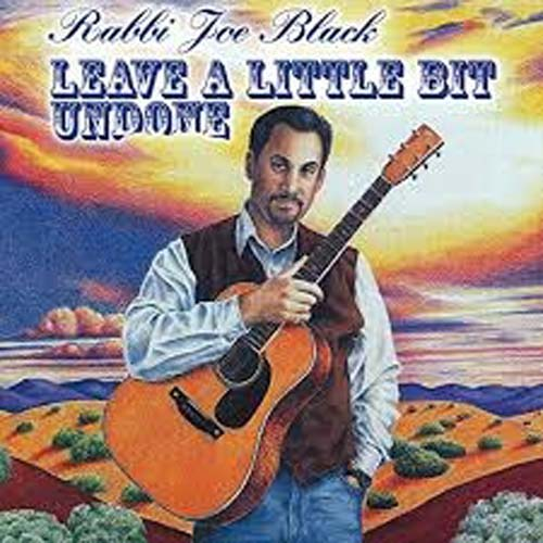 Leave a Little Bit Undone - a CD by Rabbi Joe Black