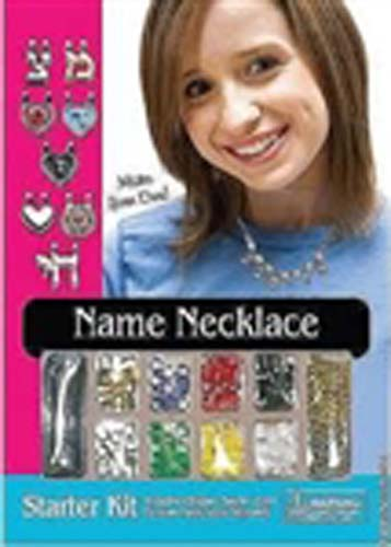 Hebrew Name Necklace Starter Kits (Teen)