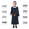 Ruth Bader Ginsburg Action Figure for kids and adults