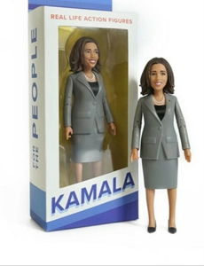 Kamala Harris Action Figure, a woman of action