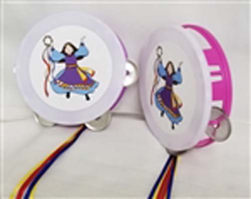 Make joy and gladness with Miriam's Tambourine