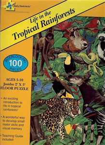 Life in the Tropical Rainforests - 100 piece