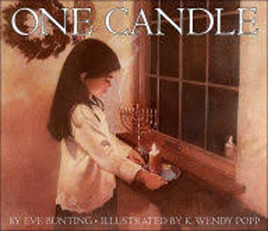 One Candle by Eve Bunting