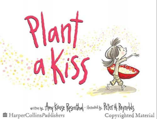 Plant a Kiss Board Book by Amy Krouse Rosenthal