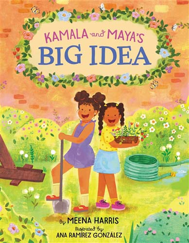 Kamala and Maya's Big Idea - a playground for all