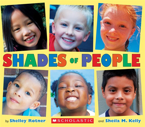 Shades of People, a rainbow of children