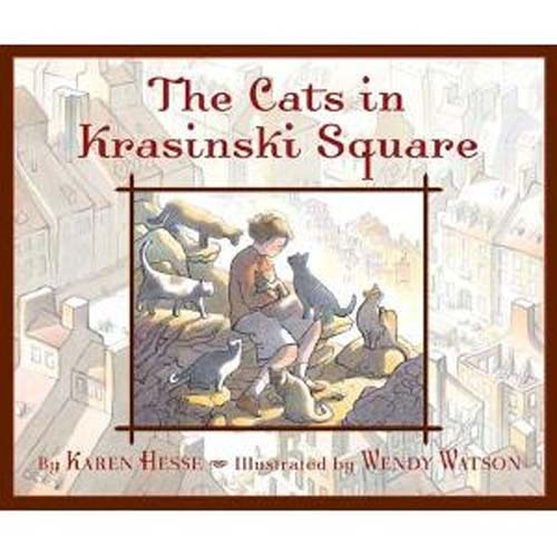 Cats in Krasinski Square, HB a story of bravery by humans and cats