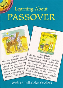 Learning About Passover mini Activity Book