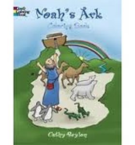 Noah's Ark Coloring Book PB