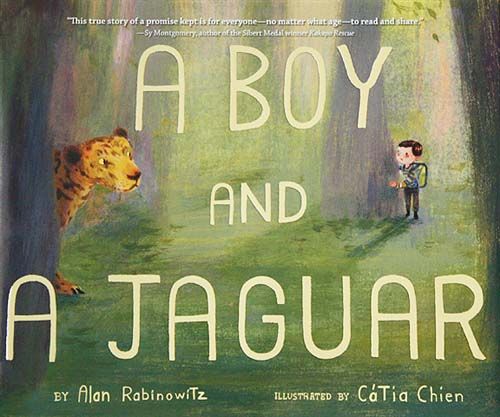 A Boy and a Jaguar, a story of mutual help