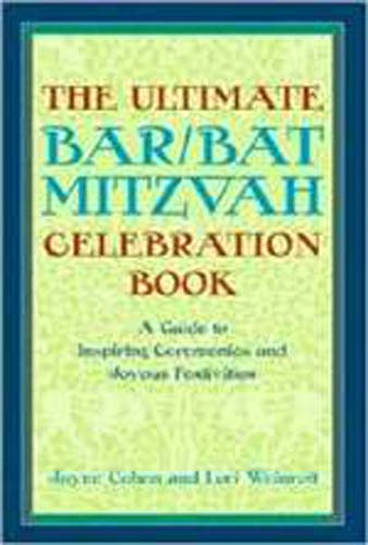 Ultimate Bar/Bat Mitzvah Celebration Book