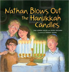 Nathan Blows Out the Hanukkah Candles (PB)