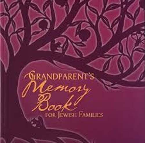 Grandparent's Memory Book for Jewish Families