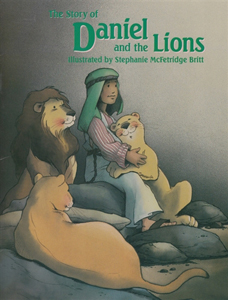 Story of Daniel and the Lions, as child's Bible story