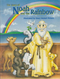 Story of Noah and the Rainbow, a child's Bible story