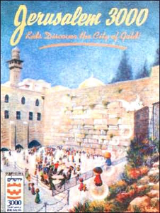 Jerusalem 3000: Kids Discover the City of Gold (HB)