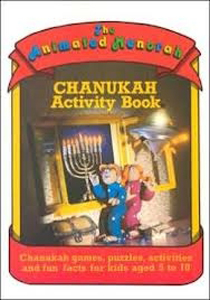 Animated Menorah Activity Book PB