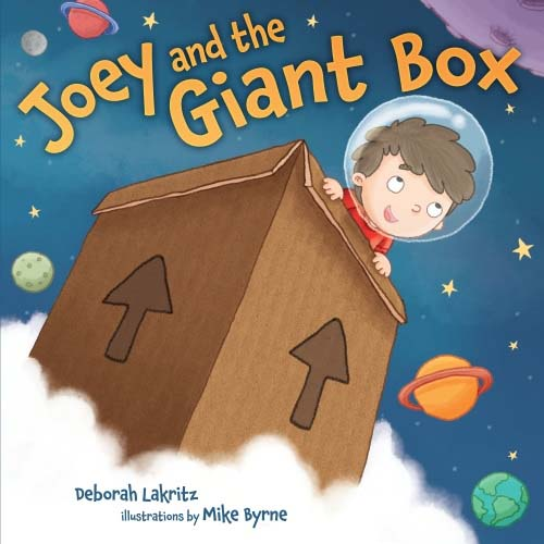 Joey and the Giant Box..that turned into a tzedakah box!