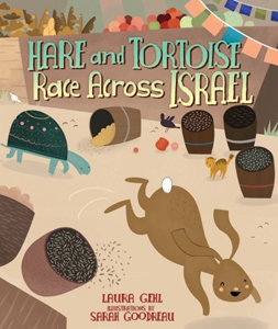 Hare and Tortoise Race Across Israel, a new twist on an old story