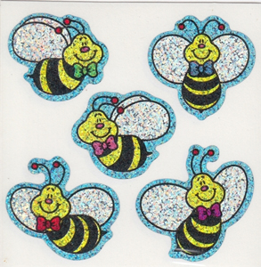 Bee-Dazzling Bee Stickers for Rosh Hashanah Fun