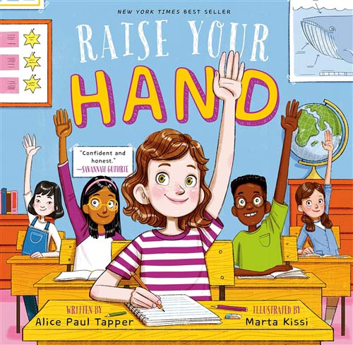 Raise Your Hand, a book by and for girls!
