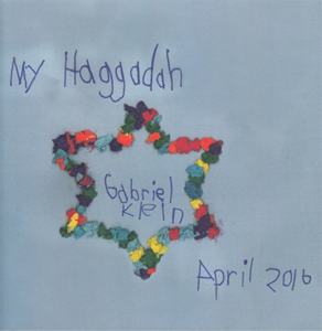 My Haggadah by 8-year-old Gabriel Klein