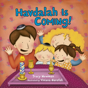 Havdalah is Coming!  A board book about the ending of Shabbat