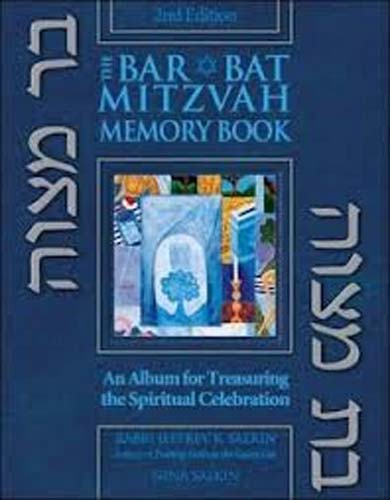 Bar/Bat Mitzvah Memory Book