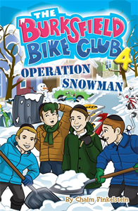 Burksfield Bike Club: Book 4 - Operation Snowman PB