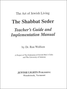 Shabbat Seder Teacher's Guide